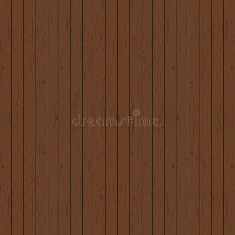 Natural brown wooden background. Seamless pattern royalty free illustration