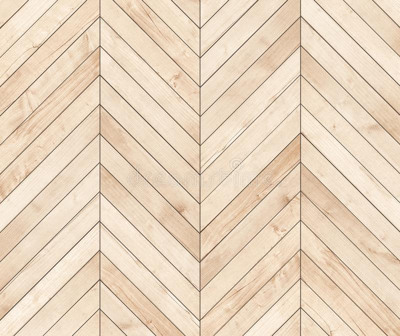 Natural Brown Wooden Parquet Herringbone Wood Texture