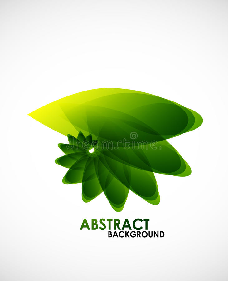 Natural business shape stock illustration