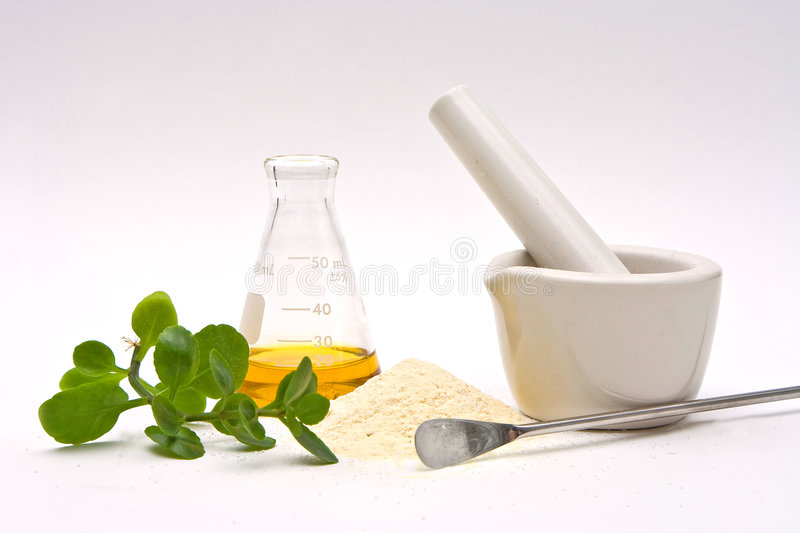Natural chemistry royalty free stock photo