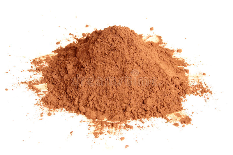 Download Natural cocoa powder stock image. Image of beverage, dark - 14435161