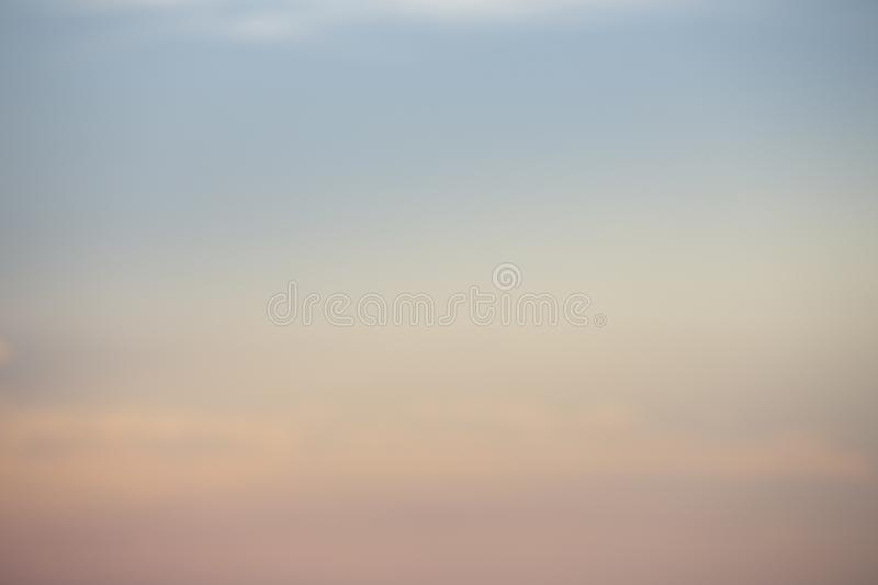 Natural colors Evening sky new day  for Heaven,The light from heaven from the sky is a mystery,In twilight golden atmosphere. Natural colors Evening sky Shine royalty free stock photos