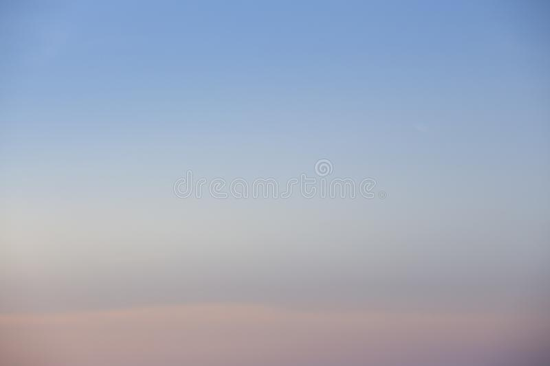 Natural colors Evening sky new day  for Heaven,The light from heaven from the sky is a mystery,In twilight golden atmosphere. Natural colors Evening sky Shine stock photo