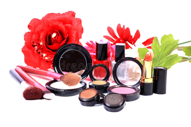 Natural cosmetic royalty free stock photos