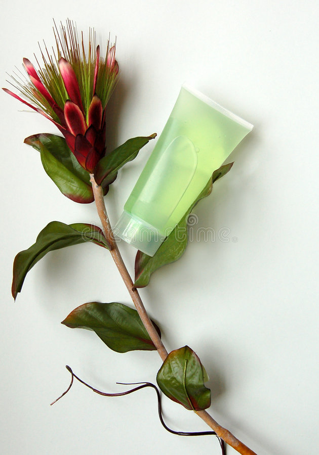 Download Natural Cosmetics And Flower Stock Image - Image: 6106179