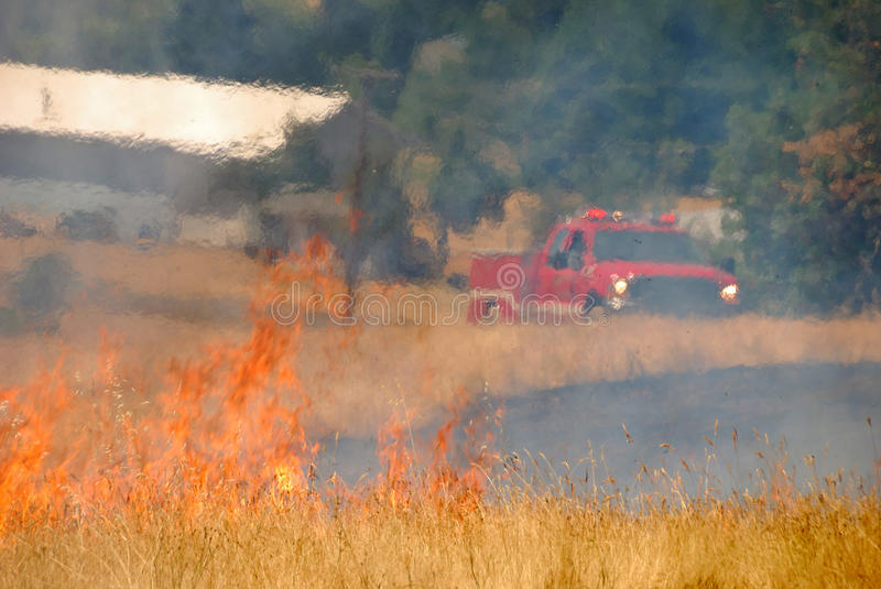 Download Natural Cover Fire stock image. Image of stubble, fire - 24566159