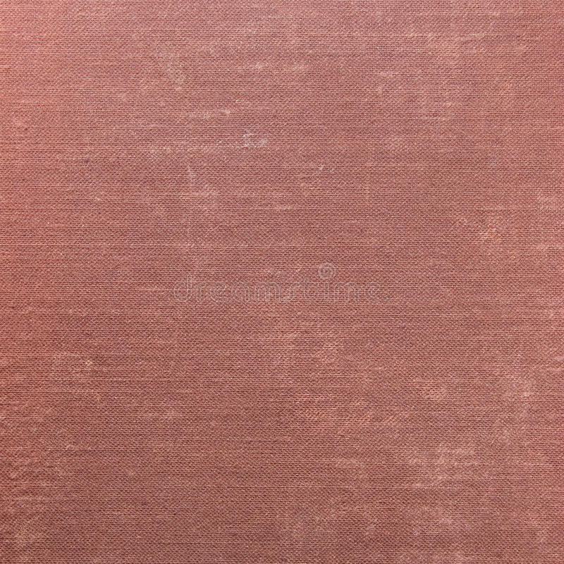 Natural Deep Red Grunge Linen Texture Background Royalty Free Stock Photography