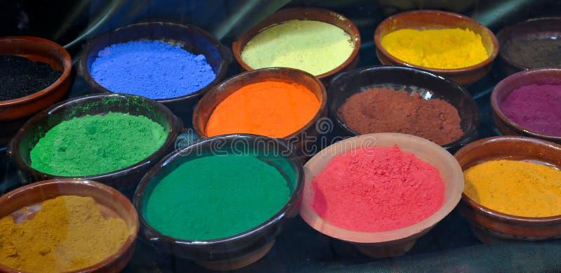 Natural dye 2 royalty free stock photo