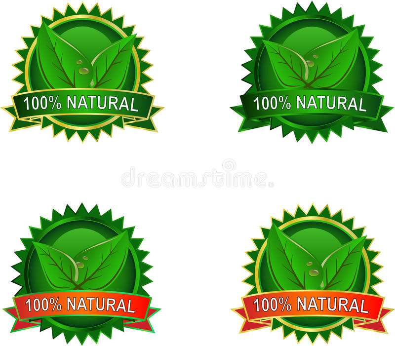 Download Natural Eco product labels stock vector. Illustration of nature - 16652523