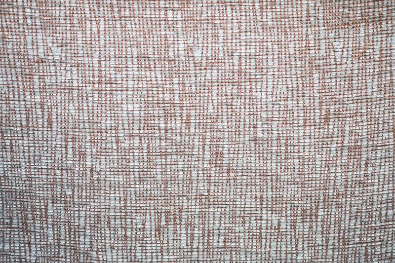 Natural Fabric cloth texture macro pattern brown royalty free stock photography