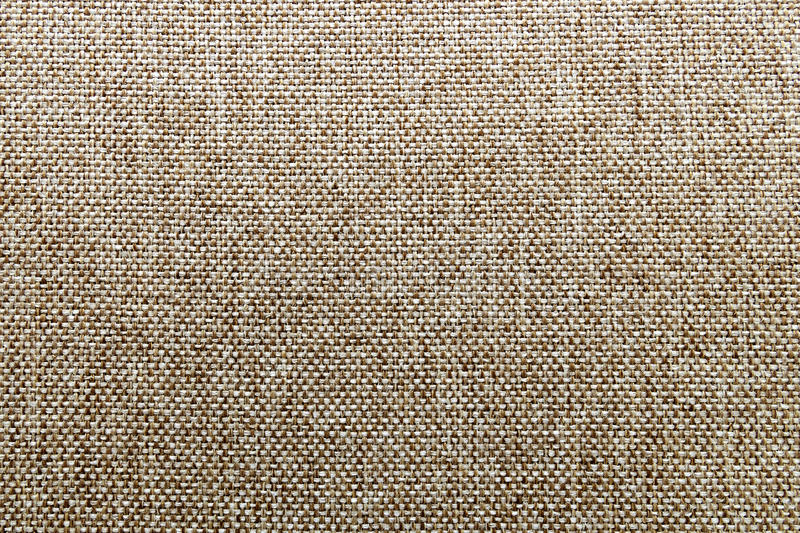 Natural fabric linen texture for design, sackcloth textured. Bro. Wn canvas background. Cotton royalty free stock photo