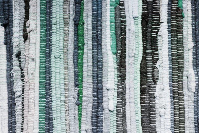Patchwork handmade in blue tones. stock photos
