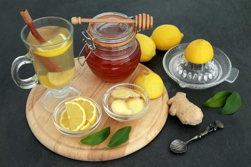Natural Flu and Cold Remedy royalty free stock photography