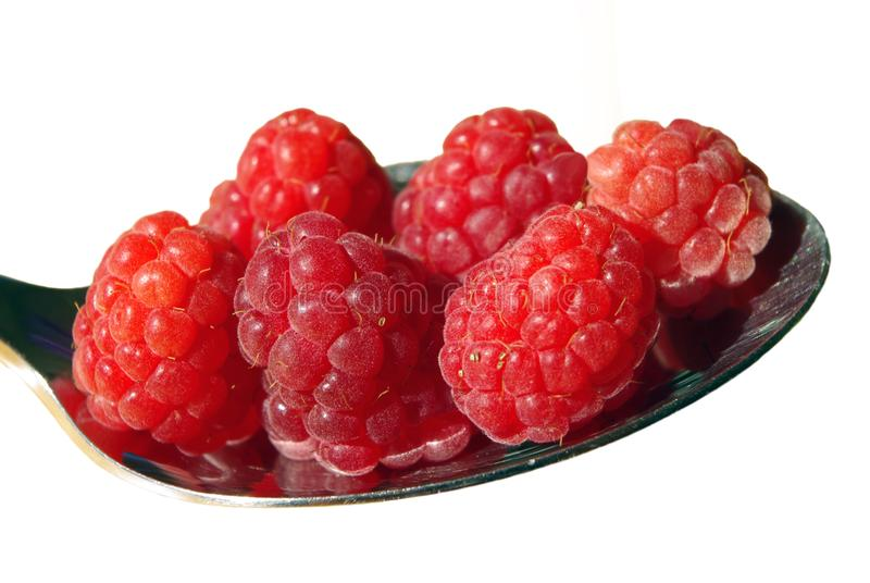 Natural Foods, Fruit, Berry, Raspberry royalty free stock images