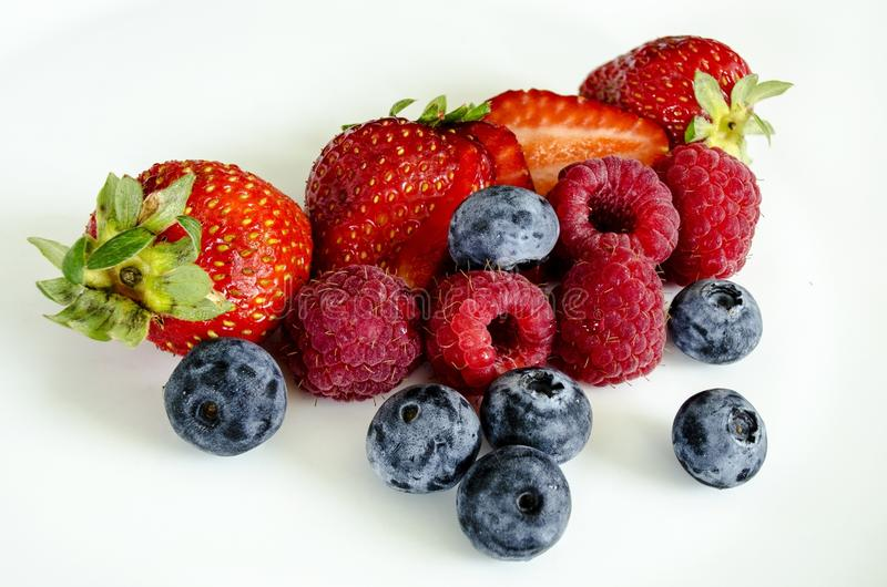 Natural Foods, Fruit, Berry, Strawberry royalty free stock photos