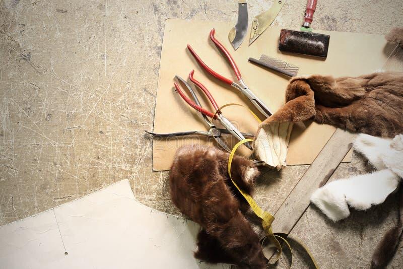 Natural fur royalty free stock images