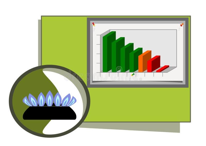 Natural Gas Diagram Stock Photos