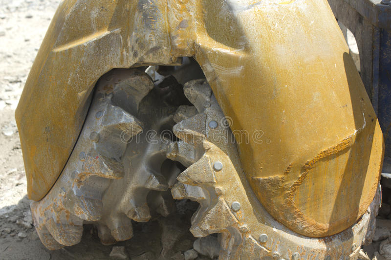 Natural Gas Drilling Bit royalty free stock photography
