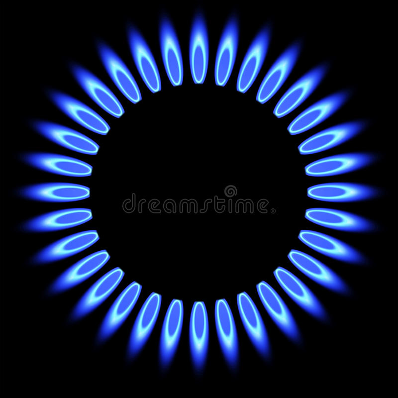 Natural Gas Flame Stove Burner