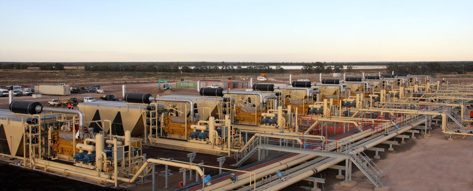 Download Natural Gas Processing Plant Stock Image - Image of equipment, production: 16175721