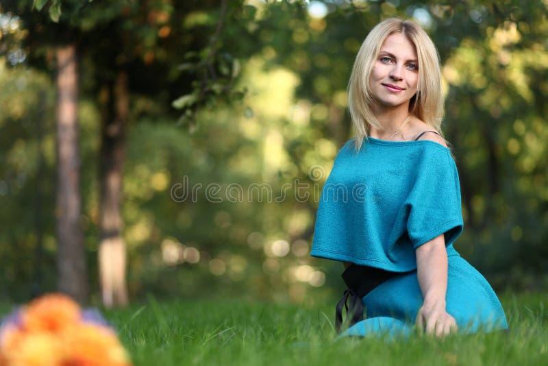 Natural girl royalty free stock photos