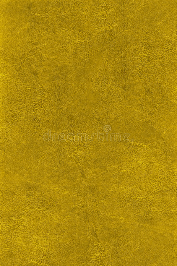 Natural gold leather texture royalty free stock image