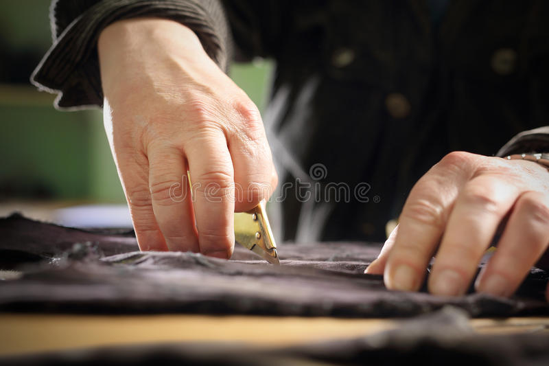The natural grain leather stock photography