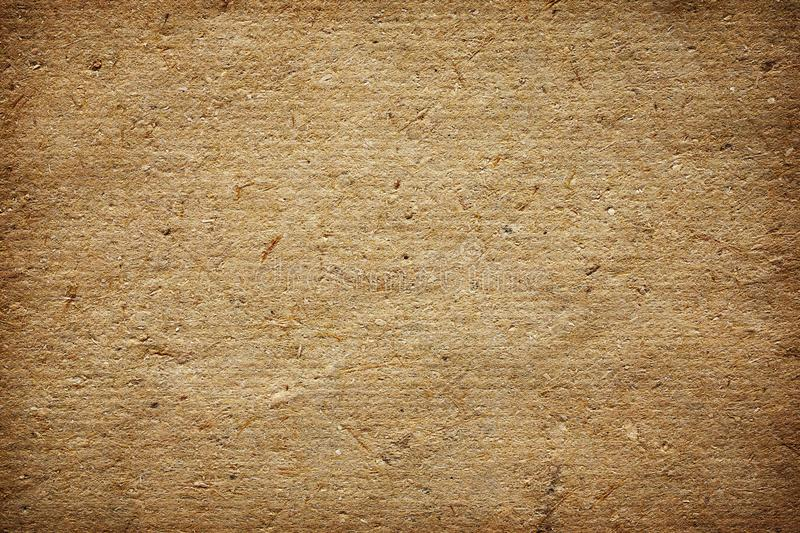 Natural handmade paper for texture or background royalty free stock photo
