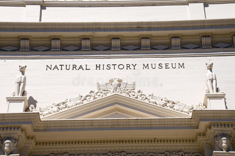 Natural History Museum. At Balboa Park in San Diego stock images