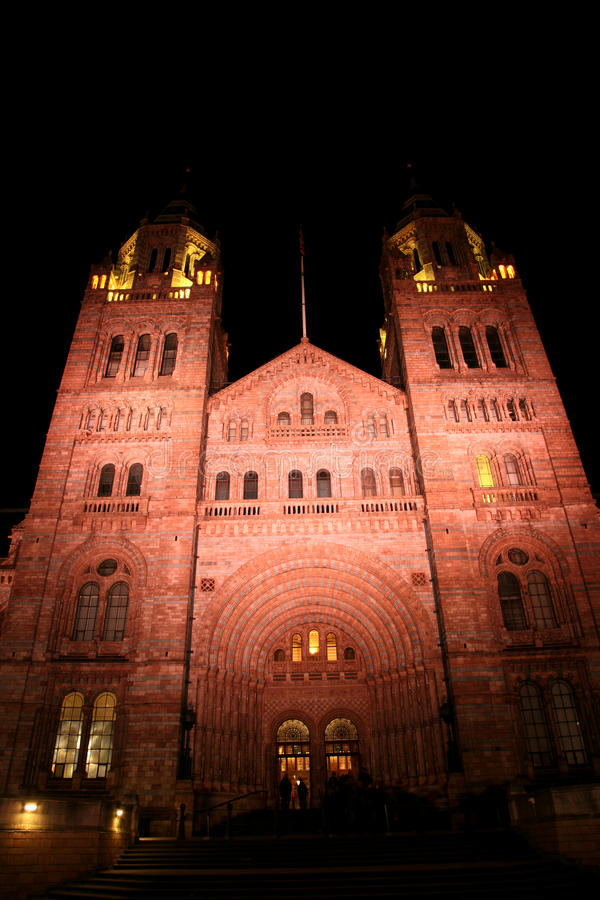 Download The Natural History Museum stock photo. Image of historic - 20668124