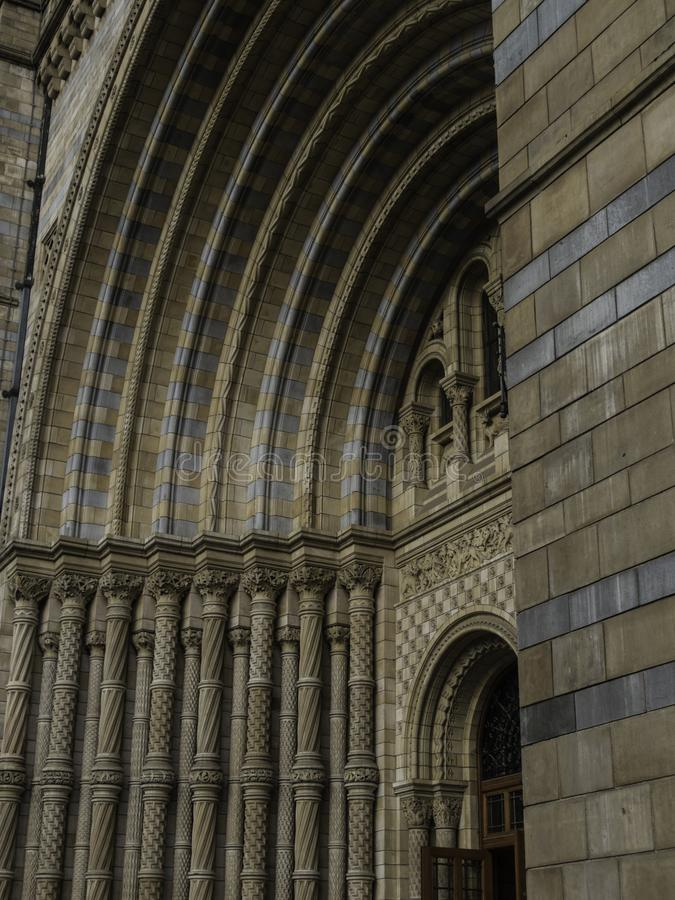 Natural History Museum Main Entrance royalty free stock images