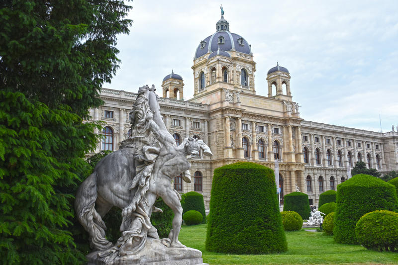 Natural History Museum (Naturhistorisches Museum Wien). royalty free stock photography