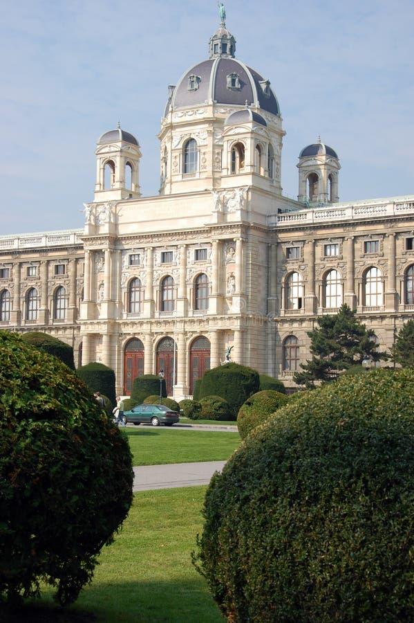 Natural History Museum Vienna stock image