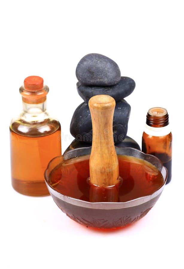 Natural Honey Spa Stock Photo