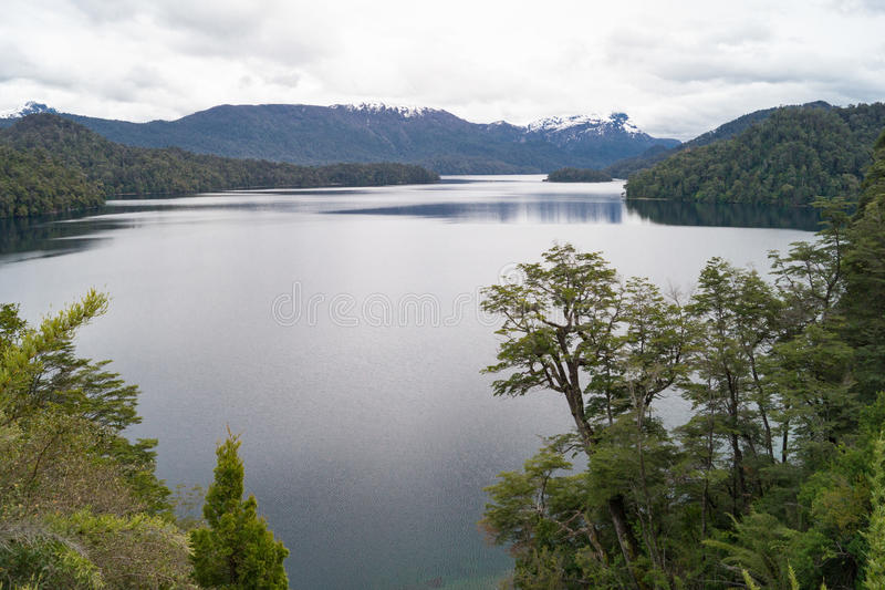 Natural landscape in Patagonia, Argentina stock photo