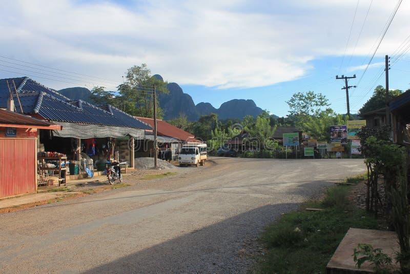 Natural landscapes,Laos royalty free stock photography