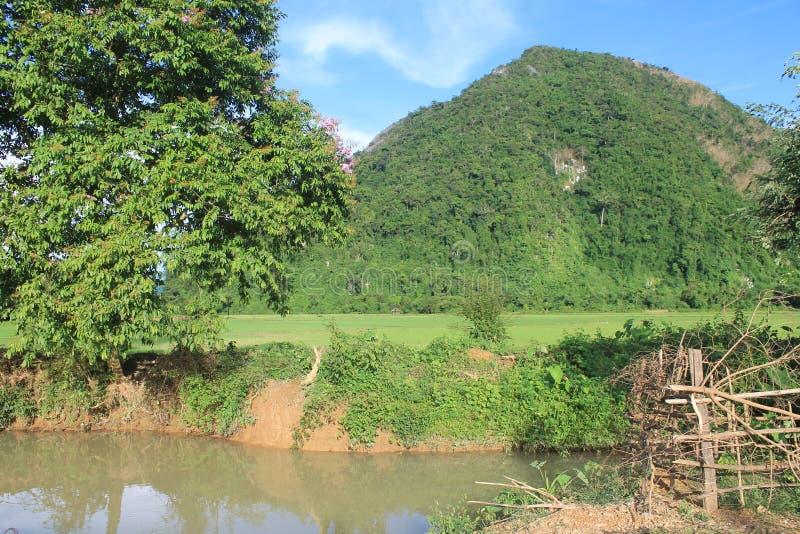 Natural landscapes,Laos stock photography
