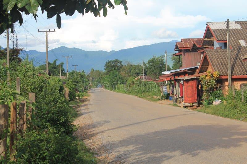 Natural landscapes,Laos stock photo