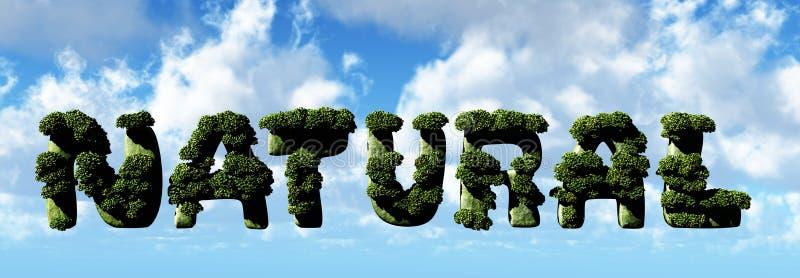 Download Natural Letters 3d Illustration Stock Illustration - Illustration of plant, illustration: 33234459