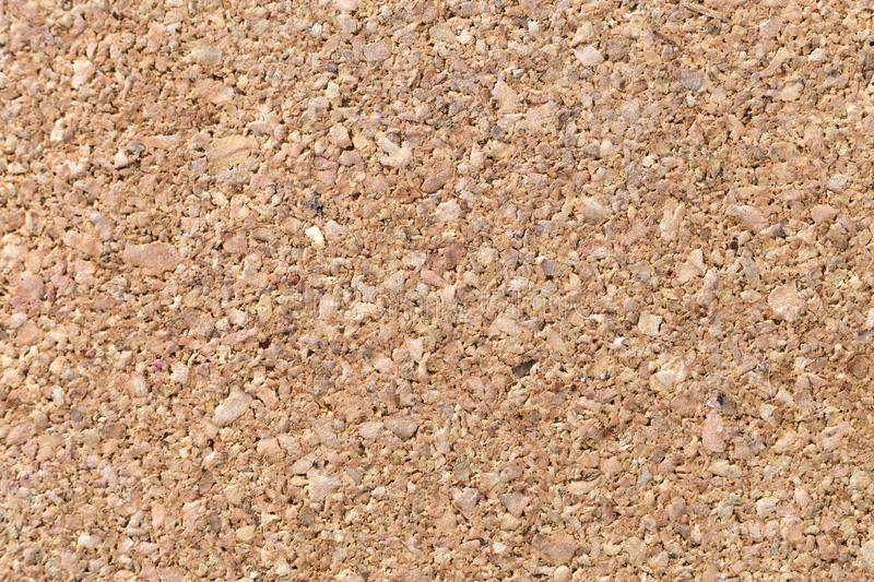 Natural light brown cork textured flat surface. Copy space background, decoration interior and furniture material.  royalty free stock images