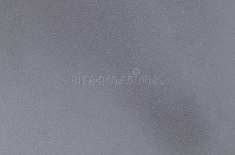 Natural, light grey leather texture stock photo