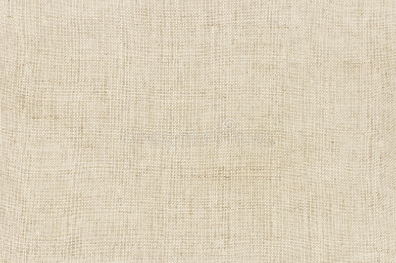 Natural linen texture for the background stock image