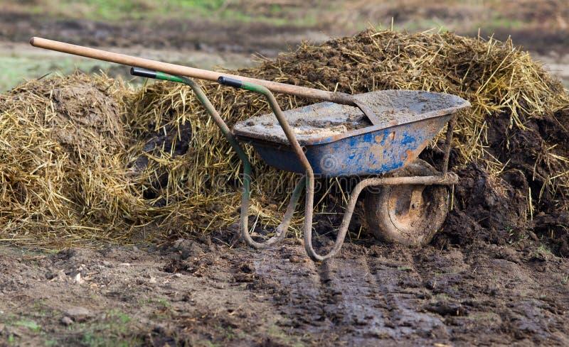 Natural manure stock photography