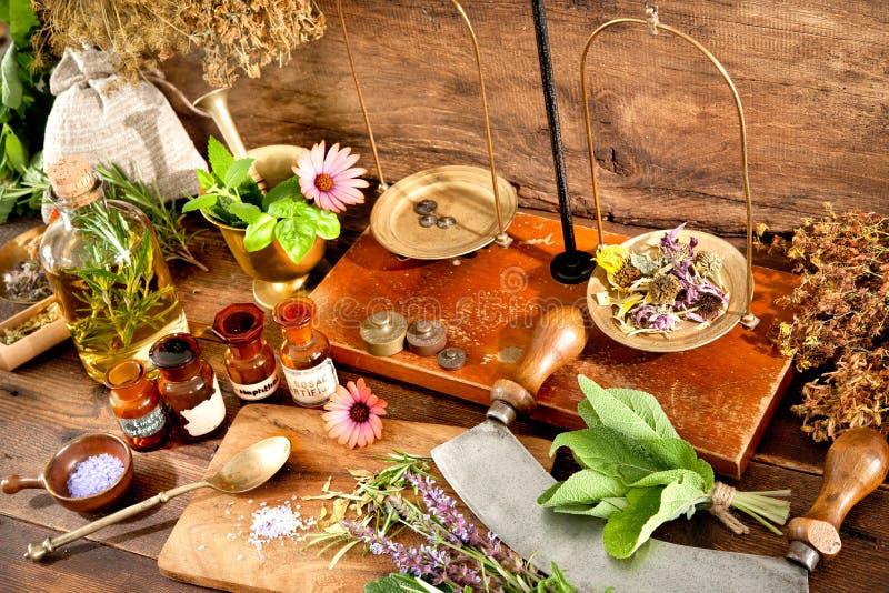 Natural medicine royalty free stock photos