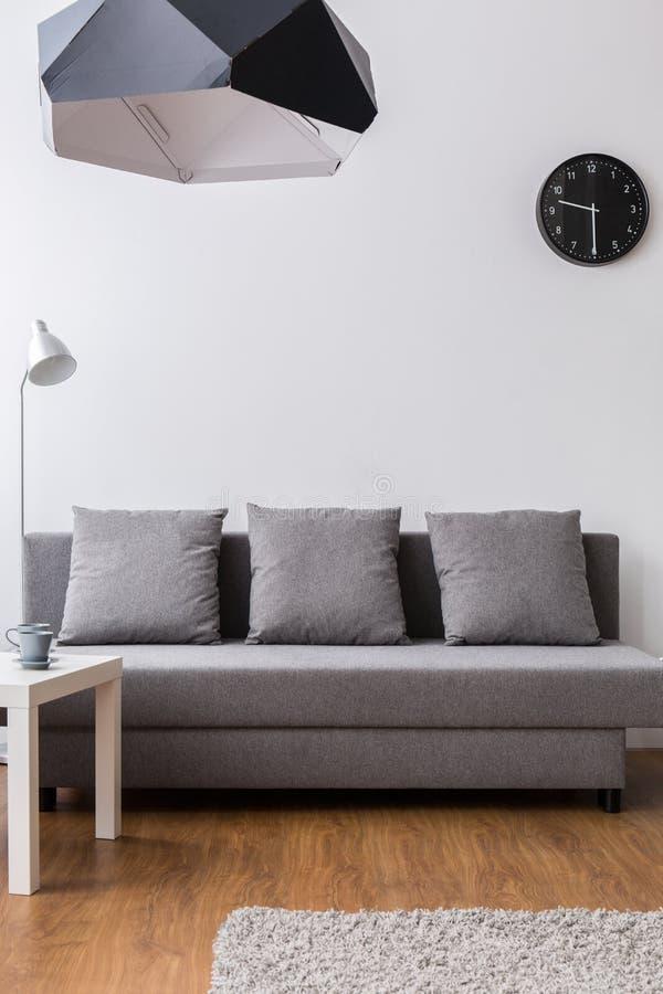 natural minimalist home decor mock-up stock photo