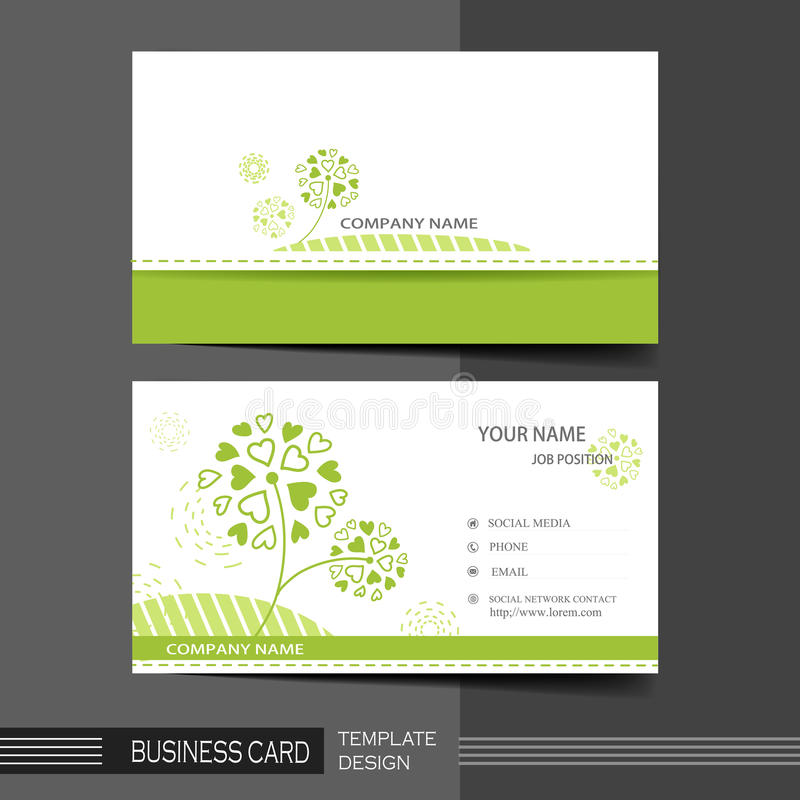 Natural modern business card template stock vector illustration of download natural modern business card template stock vector illustration of creative advertise 41961324 reheart Gallery