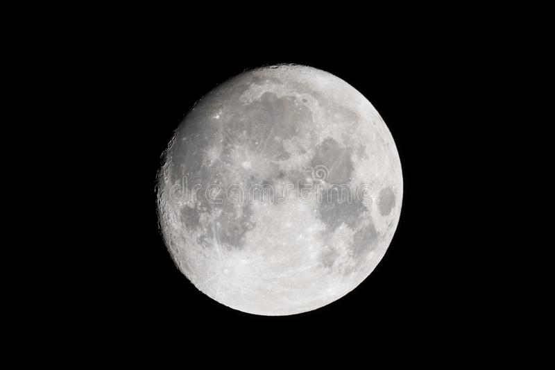 Natural moon picture stock photos