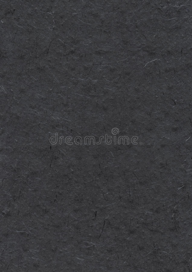 Natural nepalese recycled black paper texture royalty free stock images