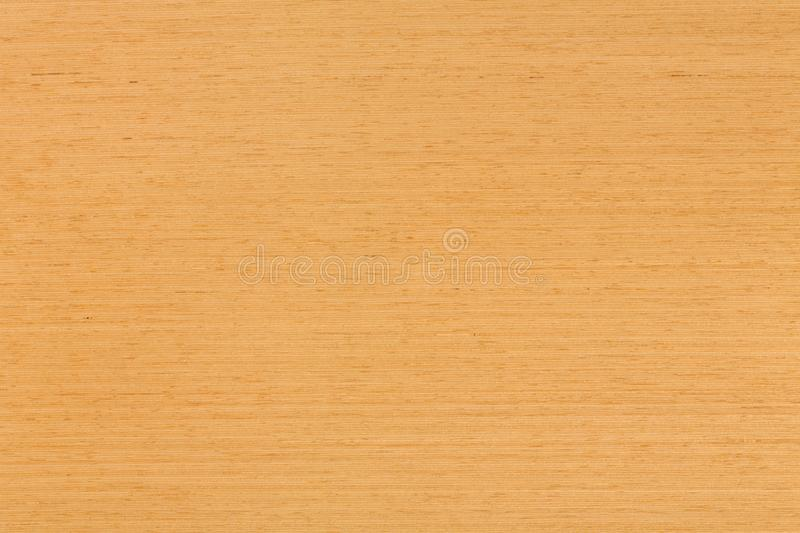 Natural oak veneer background on macro. stock photo