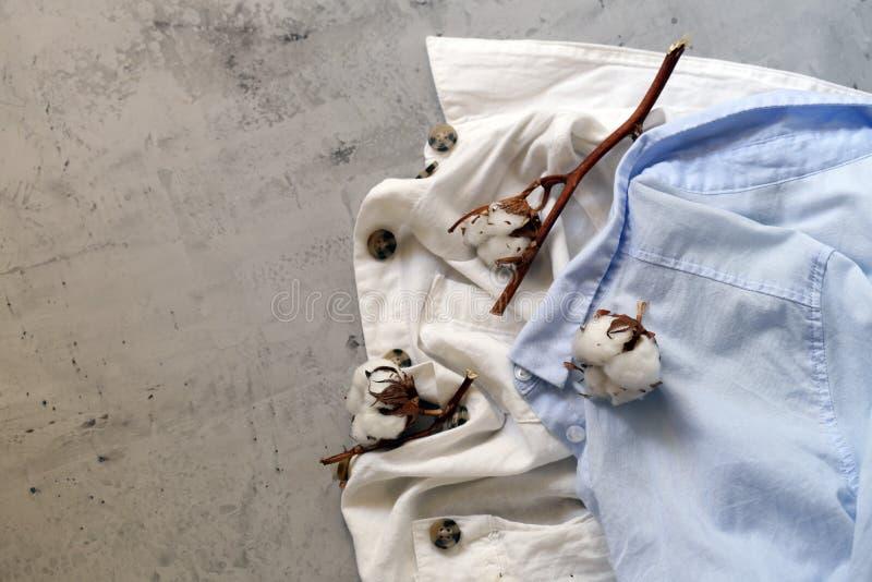 Natural organic clothing stock image